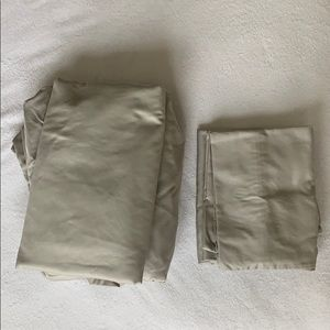 Target Threshold Sheets & Pillowcases - light grey